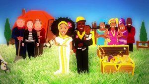Nathalie Makoma Congolese Bruiloft op het Platteland RTL5
